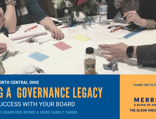 Training Session Brings Value & Strategic Board Governance to Local Non-Profit Boards