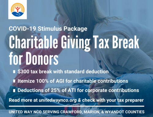 COVID-19 Stimulus CARES Act Includes Incentive for Donors
